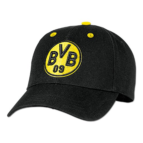 Borussia Dortmund, BVB-Kappe (schwarzgelb), schwarz/Gelb, 0