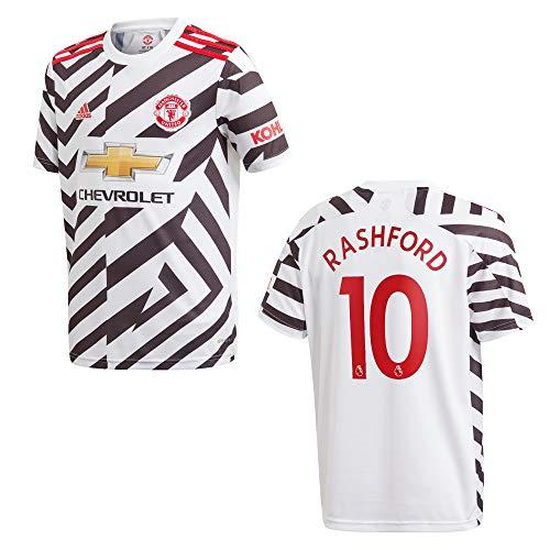 adidas Manchester United Trikot 3rd Herren 2021 - RASHFORD 10, Größe:L