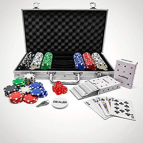 #winning 300-teiliges Pokerset mit Chips Professionelle Ausgabe