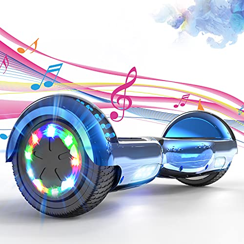 SOUTHERN WOLF Hoverboards, Hoverboards Kinder, 6.5 Zoll Self Balance Scooter mit 350W*2 Motor Beleuchtung RGB...