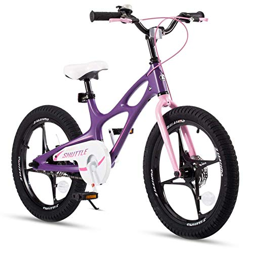 RoyalBaby Kinderfahrrad Jungen Mädchen Space Shuttle Magnesium Fahrrad Stützräder Laufrad Kinder Fahrrad 16...