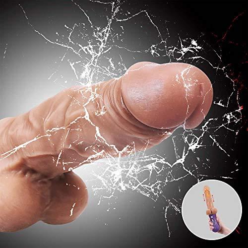 Aivrobta Realistische Dildos Silikon Vibratoren fr Sie Stofunktion Heizung Erotik Sexspielzeug fr Frauen...