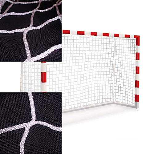 Handballtornetze und Futsal tornetze. Zwei-netztore-Set 3x2m. Polypropylenn knotenlos hochfest. Behandlung...
