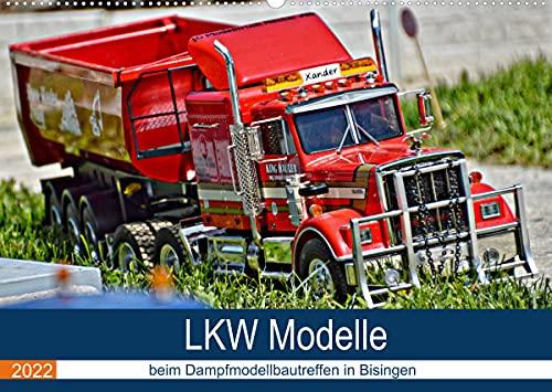 LKW Modelle beim Dampfmodellbautreffen in Bisingen (Wandkalender 2022 DIN A2 quer)