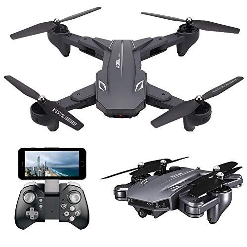 Teeggi VISUO XS816 FPV Drohne mit Kamera 4K HD WiFi Live Übertragung Faltbare RC Quadrocopter für Kinder...