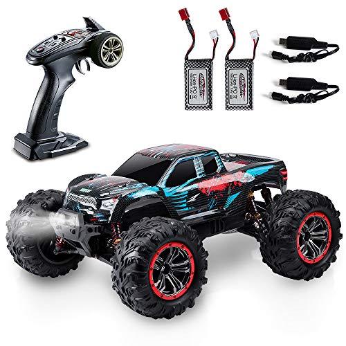 VATOS RC Auto 1:10 Fernbedienung 80M 46 km/h 4x4 4WD 2,4 GHz Funksteuerung Monster Truck Rock Racing Crawler...