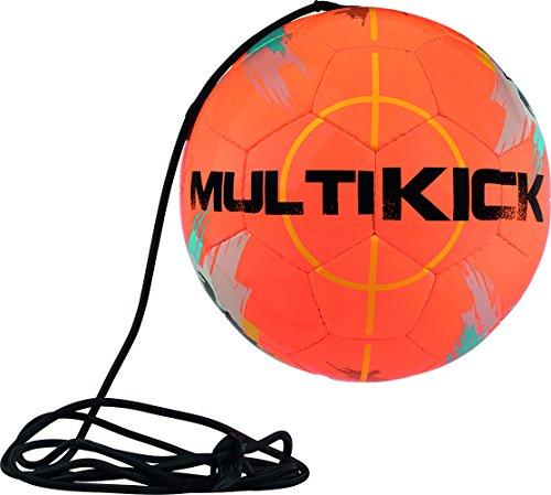 Derbystar Unisex Multikick Pro Fu ball, orange grau blau, 5 EU