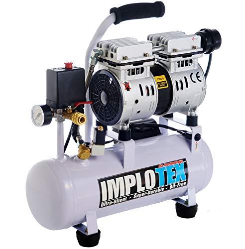 480W Silent Flüsterkompressor Druckluftkompressor nur 48dB leise ölfrei flüster Kompressor Compressor...