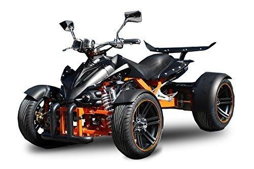 AUFGEBAUT Spy 350cc Racing Quad 14' 2 Pers. Autobahn Zulassung 6-Gang Manuell + Rckwrtsgang Quad Atv Racing...