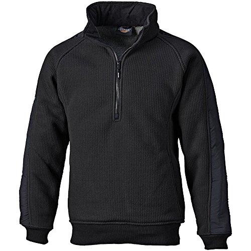 Dickies EH89000 BK L Fleece-Pullover Eisenhower Größe L in schwarz, L