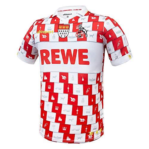 uhlsport 1. FC Köln Karneval Fastelovend Trikot 20/21 (3XL, red/White)