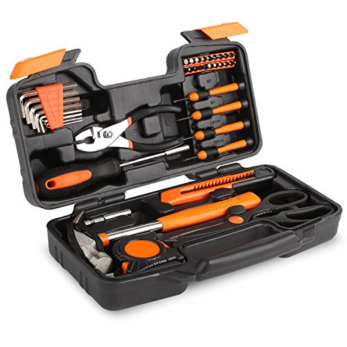 FIXKIT Werkzeugset im Koffer, 555 teilig Werkzeugkoffer, Werkzeug-Set Ideal Weihnachtsgeschenk für den...