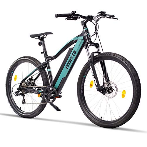 Fitifito MT27,5 Elektrofahrrad Mountainbike E-Bike 48V 250W Heckmotor, 48V 13Ah 624Wh Samsung Lithium-Ionen...