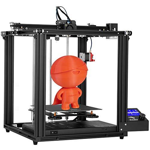 Creality Ender 5 Pro 3D Drucker mit Silent Motherboard Upgraded Metal Feeder Extruder und Capricorn Bowden...