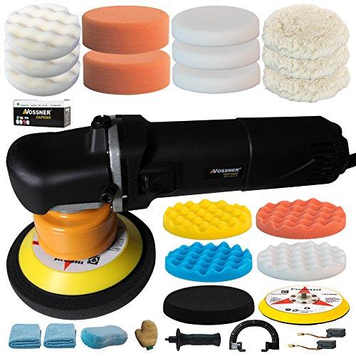 VOSSNER® Poliermaschine Exzenter DAP 6800 Excenter Schleifmaschine Auto Polierer Smart Repair Spezial Set