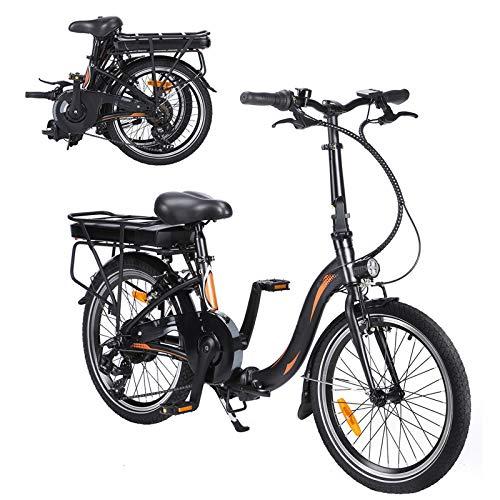 CM67-F054 Elektro Faltfahrrad 20 Zoll Klappfahrrad E-Bike Aus Alu Quick-Fold-System 7 Gang Faltbares Fahrrad...
