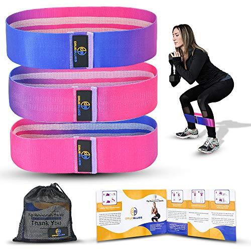 Drueblues Fitnessband [ 3er Set] Resistance Bands, Fitness widerstandsband Set Yoga Band in 3...
