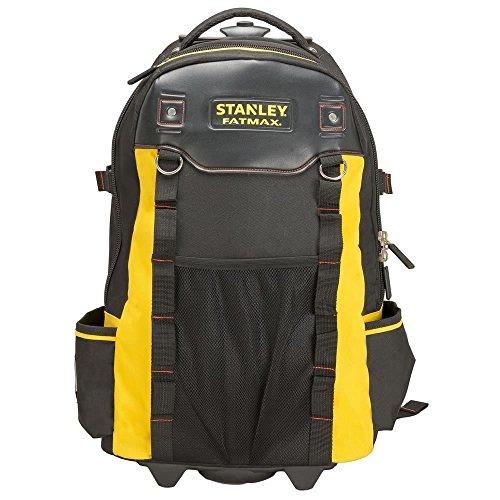 Stanley FatMax 1-79-215 Werkzeugrucksack, wasserdichter Kunststoffboden, atmungsaktive Polsterung, stabiler...