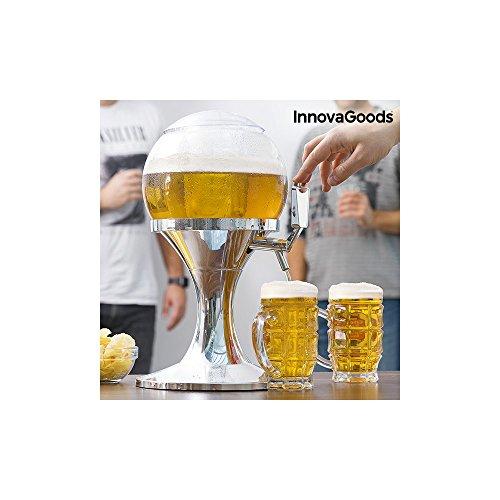 InnovaGoods Ball, kühlend, PMMA, silberfarben, 24 x 24 x 42 cm