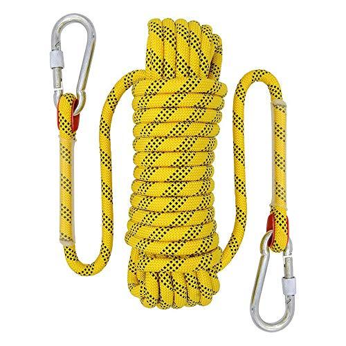 YMG 20M / 10M Outdoor-Kletterseil 12mm Durchmesser Outdoor-Wandern Hochohmiges Kabel Sicherheitsseil...