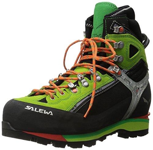 Salewa Herren MS Condor Evo Gore-TEX Trekking- & Wanderstiefel, Black/Cactus, 42.5 EU