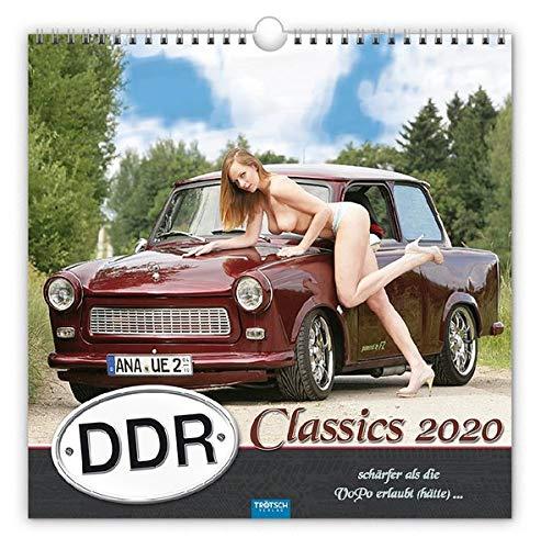 Erotikkalender 'DDR-Classics' 2020: Schärfer als die VoPo erlaubt (hätte)...