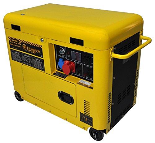 Dreiphasiger 6 kw Diesel Stromerzeuger mit E-Start