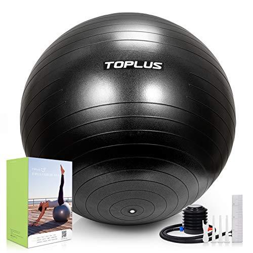 Gymnastikball Sitzball Extra dicker Yoga-Ball-Stuhl, Anti-Berst-Stabilitätsball für hohe Beanspruchung,...