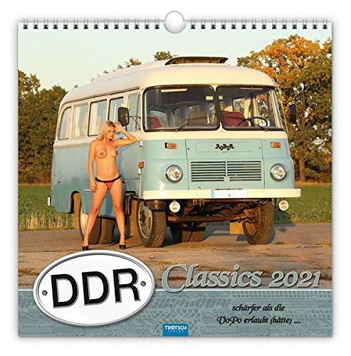 Erotikkalender 'DDR-Classics' 2021: Schärfer als die VoPo erlaubt (hätte)...: Schrfer als die VoPo erlaubt...