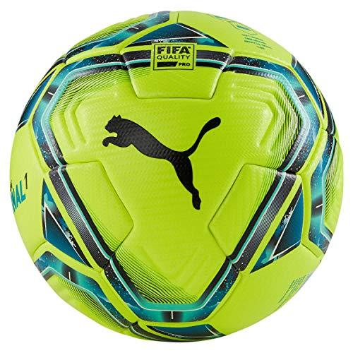 PUMA Unisex– Erwachsene teamFINAL 21.1 FIFA Quality Pr Fußball, Lemon Tonic-Spectra Green-Ocean Depths...
