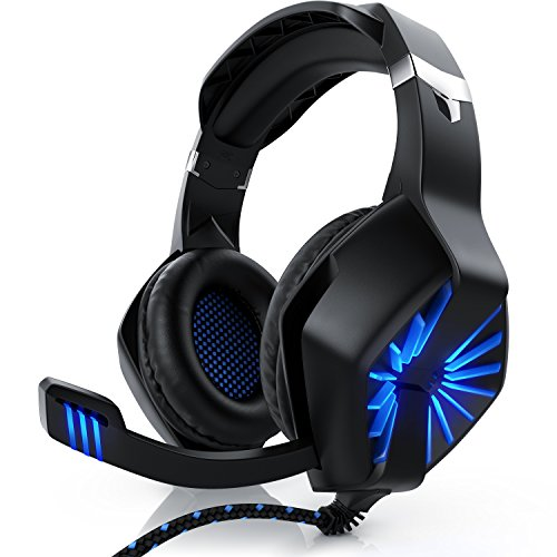 CSL - Gaming Headset für Xbox One Xbox One S Xbox One X PC PS4 PS4 Pro PS5 - Klinkenanschluss 3,5mm - Klinke...