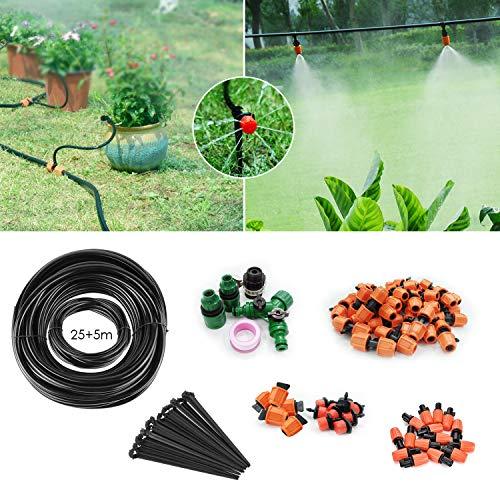 FIXKIT 30M Automatik Micro Drip Bewässerung Kit, Bewässerungssystem, geeignet für Gartenbewässerung und...