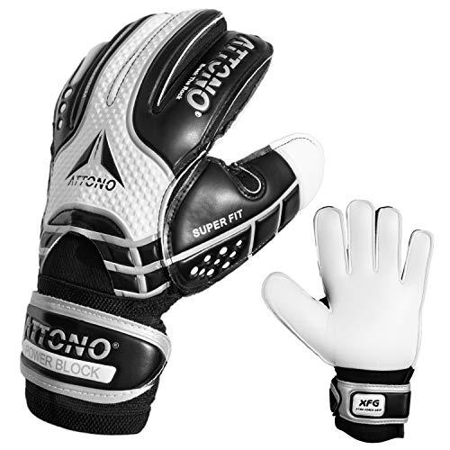 Torwarthandschuhe Power Block V01 Fingersave Torwart Handschuhe von ATTONO® (3-11) (5)