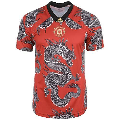 adidas Performance Manchester United Chinese New Year Trikot Herren rot/schwarz, L