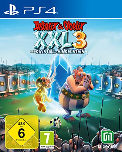 Asterix & Obelix XXL3 - Der Kristall-Hinkelstein - Standard-Edition - [PlayStation 4]