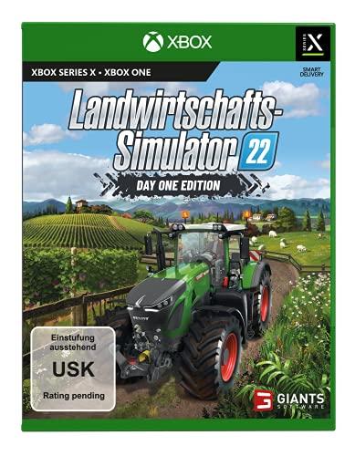 Landwirtschafts-Simulator 22: Day One Edition (exklusiv bei Amazon) - [Xbox One Xbox Series X]