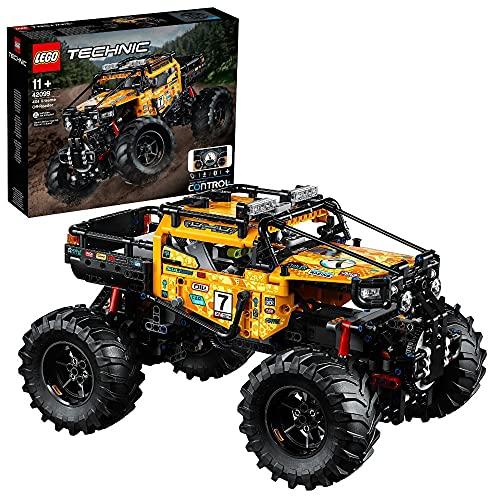 LEGO 42099 Technic Control 4x4 Allrad Xtreme-Geländewagen, App-gesteuertes Konstruktionsspielzeug mit...