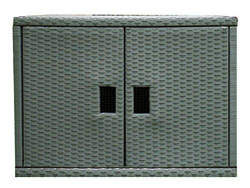 MSpa a-939Aufbewahrungsbox Schrank Korbgeflecht Einheit