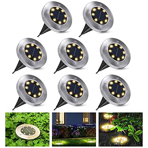 Solarlampen für Außen Garten - Solarleuchten für außen Aussen Solarlampen IP65 Wasserdicht Solar...