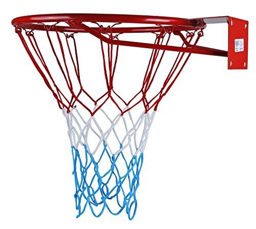 KIMET HangRing Basketballkorb Basketball Basketballring mit Ring und Netz Qualität-und Sicherheitsgeprüft...