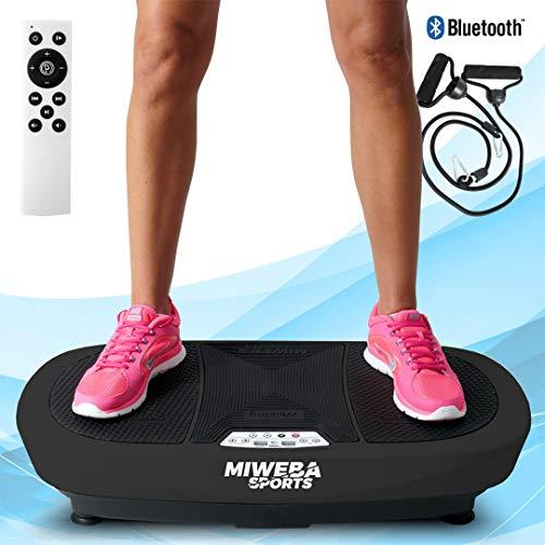 Miweba Sports Fitness 3D Vibrationsplatte MV200-3 Jahre Garantie - 3 Vibrationsmodi - Horizontal - Vertikal -...
