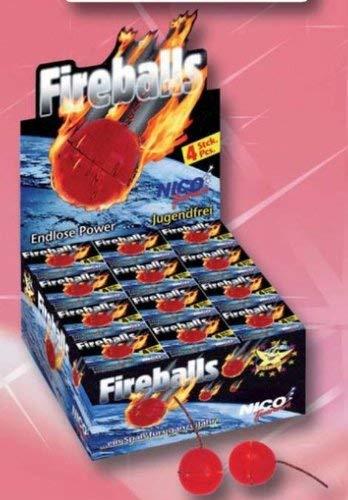 Fireball - 4 Stück/Schachtel - 36 Schachteln/Paket