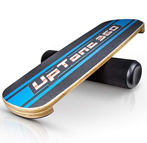 UpTone360 Balance Board - aus Birkenholz - besonders rutschfest & stabil - der ideale Gleichgewichtstrainer...