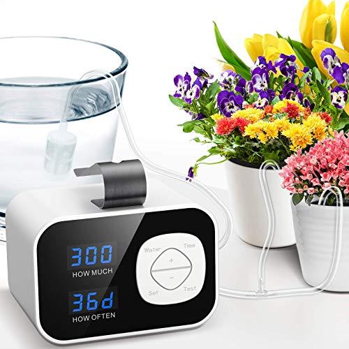 tomight automatische Bewässerungssystem, DIY automatisch Bewässerung Set mit 60-Tage-Timer,...