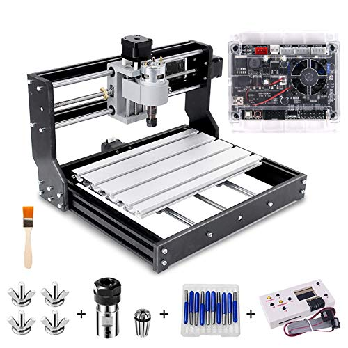 CNC 3018 Pro Engraver Fräsmaschine, Handwerker168 Upgrade-Version GRBL-Steuerungs-DIY-Mini-CNC-Maschine,...