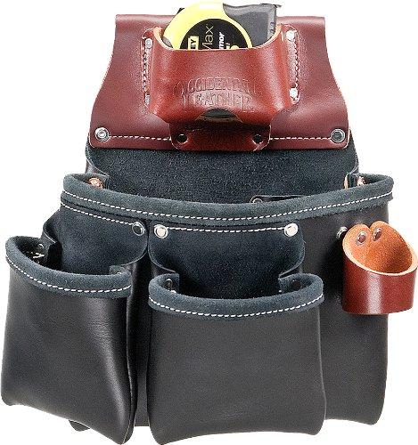 Occidental Leather B5018DB Pro Werkzeugtasche mit 3 Taschen, für Linkshänder