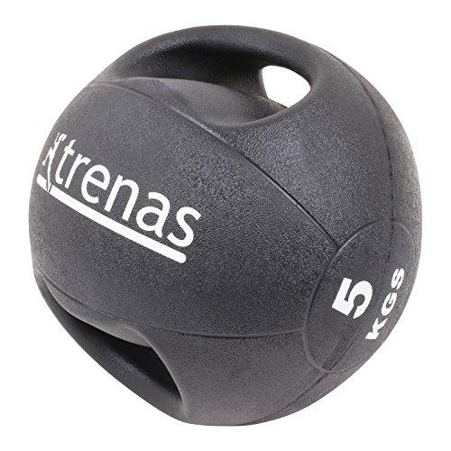 trenas Medizinball mit Handgriffen PRO - 5 kg