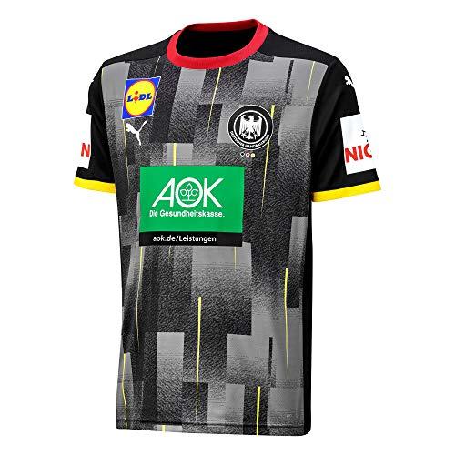 DHB Puma Handball Away Shirt Junior 152-176 Deutsche Nationalmannschaft Black, Größe:152