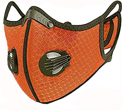 4sold Staubmaske Atemmaske Mesh Mundschutz Mundmaske 5-lagigem Filter Waschbar Staub Schutz Maske...