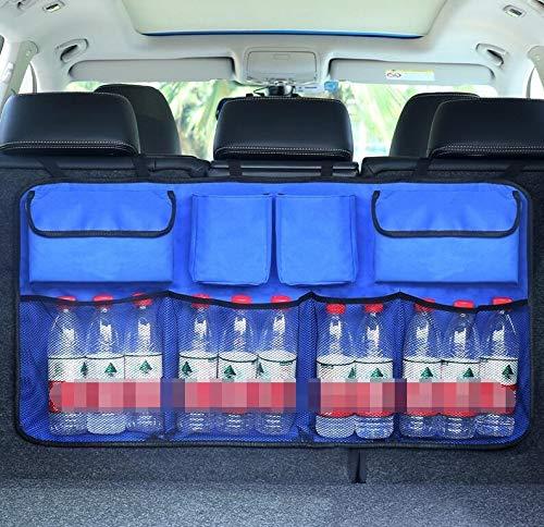 JAP768 1pc Auto-Kofferraum Organizer Einstellbare Backseat Speicher-Beutel-Net High Capacity Multi-Use Oxford...